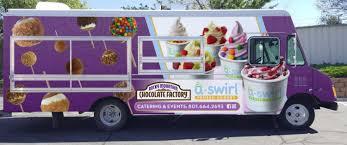 100 Dessert Trucks USwirl Rocky Mountain Chocolate Factory Food Truck Salt Lake