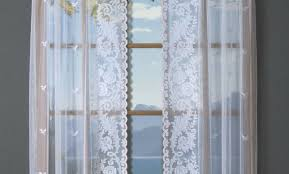 White Lace Curtains Target by How To Hang Sheer Curtains In Different Ways Modern Lace Country