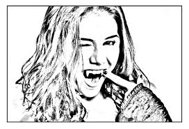 Chica Vampiro To Download Chica Vampiro Kids Coloring Pages