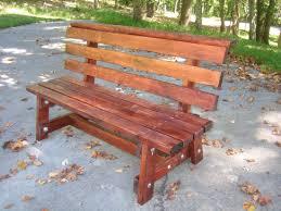 Rustic Garden Bench Plans Diy Free Download Vanity Outdoor