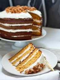 Pumpkin Layer Cheesecake by Pumpkin Tiramisu Layer Cake Recipe Hgtv