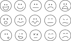 Click To See Printable Version Of Set Emoji Coloring Page Categories Emotions