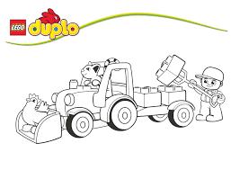 Coloriage Transport Page 10 Of 47 Oh Kids FR Coloriage Tracteur Tom Avec Fourche