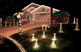 Flagpole Christmas Tree Plans by Holiday Aglow Light Displays At Area Homes Are Part Of Season U0027s