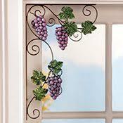 Tuscan Wine And Grape Kitchen Decor by Wine Themed Kitchen Storage Racks Holders Tuscan Grape Decor