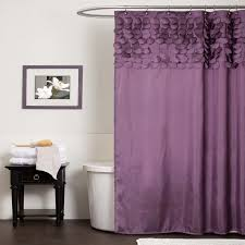 bathroom endearing elegant purple better homes shower curtain and
