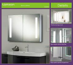 Modern bathroom medicine mirror cabinet for storage and decoration