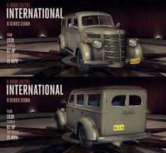 International D Series Sedan | L.A. Noire Wiki | FANDOM Powered By Wikia 1939 Intertional Truck Topworldauto Photos Of Pickup Photo Galleries Vintage Intertional Trucks Police Paddy Wagon Van Cleveland For Sale 1940 With A Chevy V8 Engine Swap Depot Vintage Arcade Delivery Panel Vancast Iron Toy Panel By Roadtripdog On Deviantart The Worlds Best 6 And Intertional Flickr Hive Mind Unearthing Legend Cummins Field Find Mack Trucks Wikipedia 1949 Kb2 34 Ton Classic Muscle Car For 3ton Truck This Beautifully Stored T 1937 360 Degrees Walk Around Inside Youtube