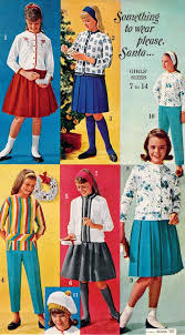 Teen Girls Outfits 1962