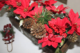 Fred Meyer Artificial Christmas Trees by Keeping It Simple Rustic Christmas Decor Diy Wooden Box