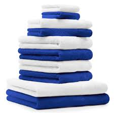 10 piece towel set classic 100 cotton 2 face cloths 2 guest