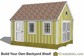 10x16 cape cod style shed plans icreatables