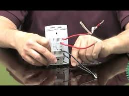wiring a floor heating thermostat for radiant systems youtube