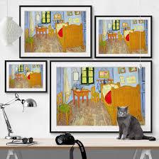bilderwelten vincent gogh schlafzimmer in arles 40 x