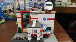 100 Lego Fire Truck Video Playing With Bricks My Custom LEGO Hospital Version 10 Full