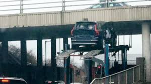 Transport Truck Slams SUV On Top Of It Into Bridge | Fox News Why Transport Infrastructure Is The Aecs Lifeblood Shipping A Car From Usa To Uk United Kingdom Faq Synchromodality Diametrically Reduces Costs What It Offroad Cargo Truck Transport Container Driving The Future Of Trucking Challenges For Transportation Sector Blenners 200th Kenworth A Milestone Achievement Australia Roelofsen Horse Trucks Across Canada Tfx Intertional Delivering Perfect Mix Volvo Magazine 5 Great Routes Selfdriving Truckswhen Theyre Ready Wired Military Tanker Truck Would They Be Transporting