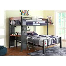 Double Loft Bed Frame Plans Queen With Desk coccinelleshow