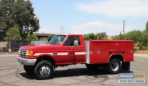 1990 Ford F350 4x4 9' Utility Rescue Truck For Sale By Truck Site ...