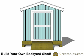 8x12 Storage Shed Blueprints by 8x12 Shed Plans Storage Shed Plans Icreatables Com