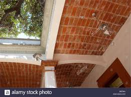 100 Brick Ceiling Typical Mexican Arched Brick Ceiling Construction In A Oaxaca City