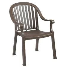 Resin Armchair, Bronze Mist, 23
