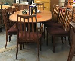 Mid Century Teak Table And Eight Chairs On Sale G Plan Circa 1975 88 Wide