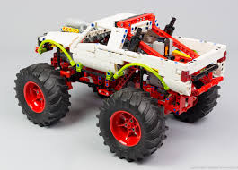 100 Lego Technic Monster Truck THE LEGO CAR BLOG