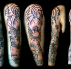 Full Sleeve Tattoos Religious