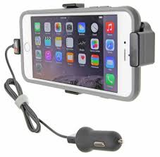 Apple iPhone 6 Plus Brodit active holder cradle holder with USB