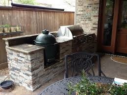 Houston Patio With Built In Big Green Egg Nest Contemporary Landscape