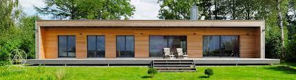 100 Award Winning Bungalow Designs Timber S Single Storey Houses Baufritz UK