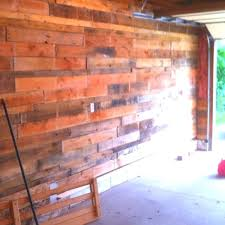 Pallet Garage Pallets For Walls Wood Shelves