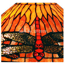 Glass Table Lamps For Bedroom by Antique Style Dragonfly Double Lit Stained Glass Table Lamp Living