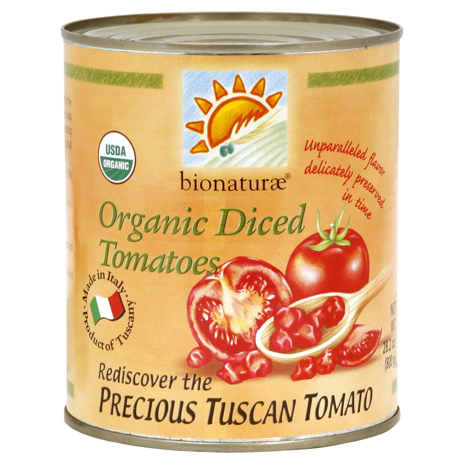 Bionaturae Organic Diced Tomatoes - 28.2oz