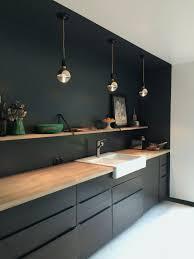 cozinha preta küchen design küche schwarz küchendesign