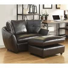 Sams Club Leather Sofa And Loveseat by Milano Leather Oversized Chair And Storage Ottoman Sam U0027s Club