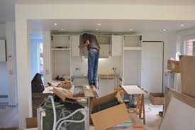 cuisine construction montage de la cuisine schmidt jour 1 construction d une maison