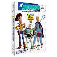 Toy Story 4 Colorear Bilingüe