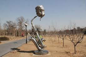Yulan Magnolia Garden at Beijing International Sculpture Park