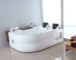 bathtubs chagne glass whirlpool bath for two whirlpool tubs