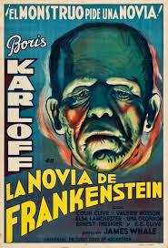 Vintage Ad Archive Halloween Hysteria by Bride Of Frankenstein U2013 Usa 1935 U2013 Horrorpedia