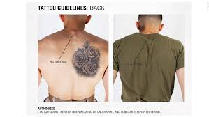 Photos Approved Tattoos For The Marines Corps