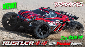 TRAXXAS Rustler 4X4 XL-5, 1/10 Stadium Truck (TQ, No Battery/Charger ...