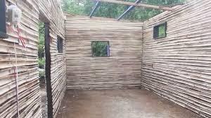 100 Bamboo Walls MuraliRama House Part 34 Wall System YouTube