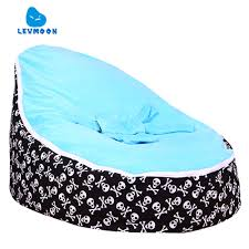 US $22.8 40% OFF|Levmoon Medium Skull Print Bean Bag Chair Kids Bed For  Sleeping Portable Folding Child Seat Sofa Zac Without The Filler-in  Children ... Fluffy Medium Bean Bag Chair Turquoise And Gold Marble W Filling Water Resistant Pyramid Shaped Outdoor Filled Ipad Tablet Ereader Standturquoise Geometric Twist Light Blue Details About Extra Large Chairs For Adults Kids Couch Sofa Cover Indoor Lazy Lounger Tropical Palms Frgipani Flowers On Background With Filling Showerproof Bright Beanbag With Dandelion Doll 18inch Dolls Uk S
