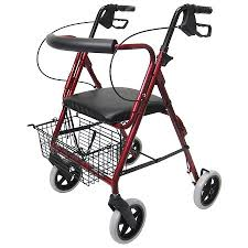Rollator Transport Chair Walgreens by Karman Aluminum Rollator With Loop Brakes And 8 Inch Wheels 15