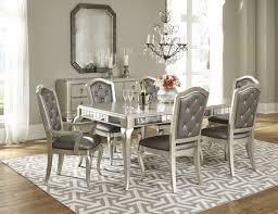 diva rectangular extendable leg dining room set from samuel