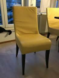 esszimmer stühle lederstühle gelb 8 stück zusammen oder einzeln
