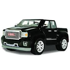 Amazon.com: Rollplay GMC Sierra Denali 12 Volt Ride-On Vehicle ...