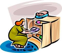 Put Clothes Away Clipart 1